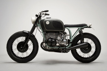 When a Swedish psychologist wanted a bike, 6/5/4 Motors built him this custom BMW.