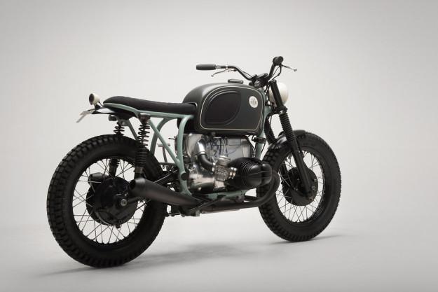 When a Swedish psychologist wanted a bike, 6/5/4 Motors built him this custom BMW.