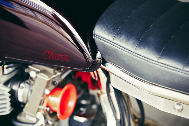 Going With The Flow: an immaculate Kawasaki W650 custom from Paris-based Clutch Motorcycles.