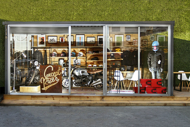 A look at Mexico City's leading cafe racer store, Concept Racer.