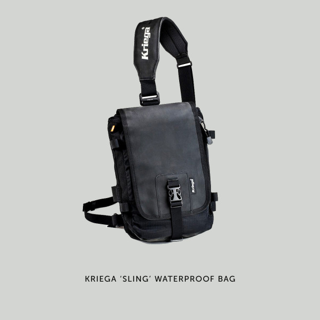 Kriega Sling motorcycle bag