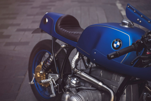 A classy, racing-style BMW R80 custom from Untitled Motorcycles of London.