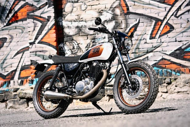 Custom Yamaha SR400 by Renard Speed Shop.