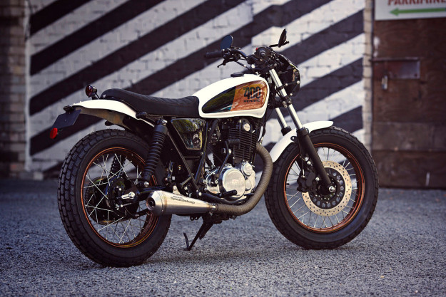 Custom Yamaha SR400 by Renard Speed Shop.