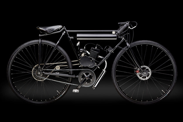 I Believe I Can Fly: the Screaming Pigeon motorized bicycle.