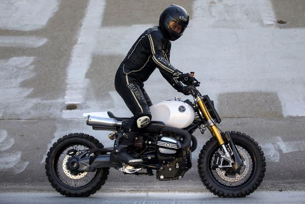 All killer, no filler: A BMW R nineT built by JSK Custom Design.