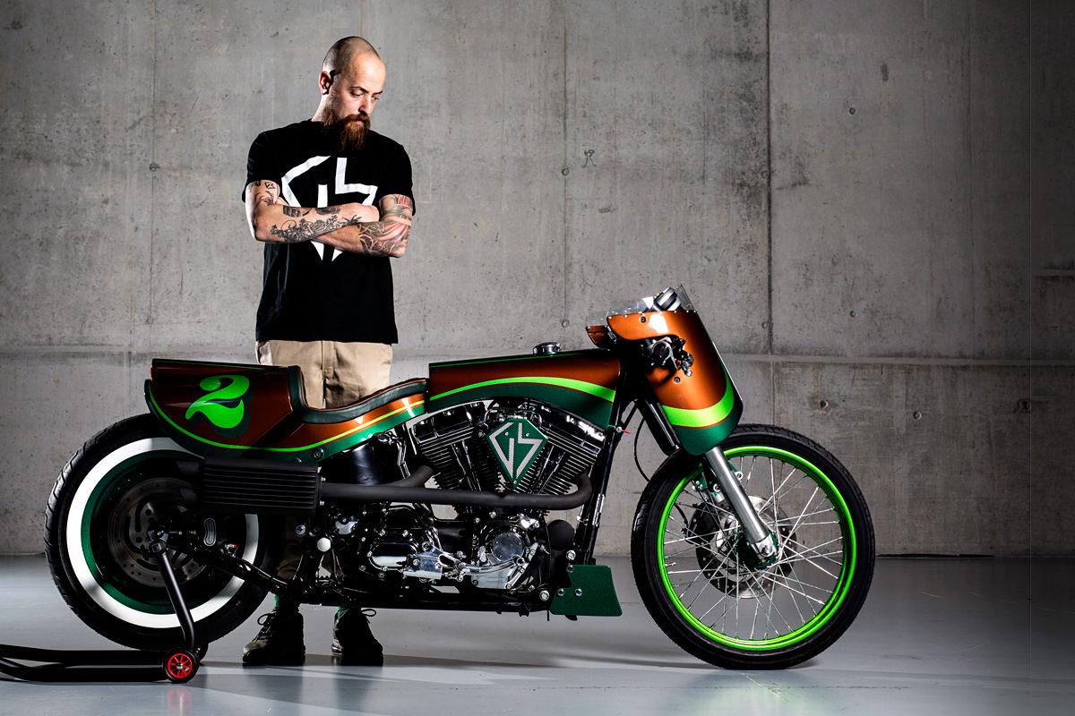 make it pop gs mashin 39 s harley fat boy bike exif. Black Bedroom Furniture Sets. Home Design Ideas