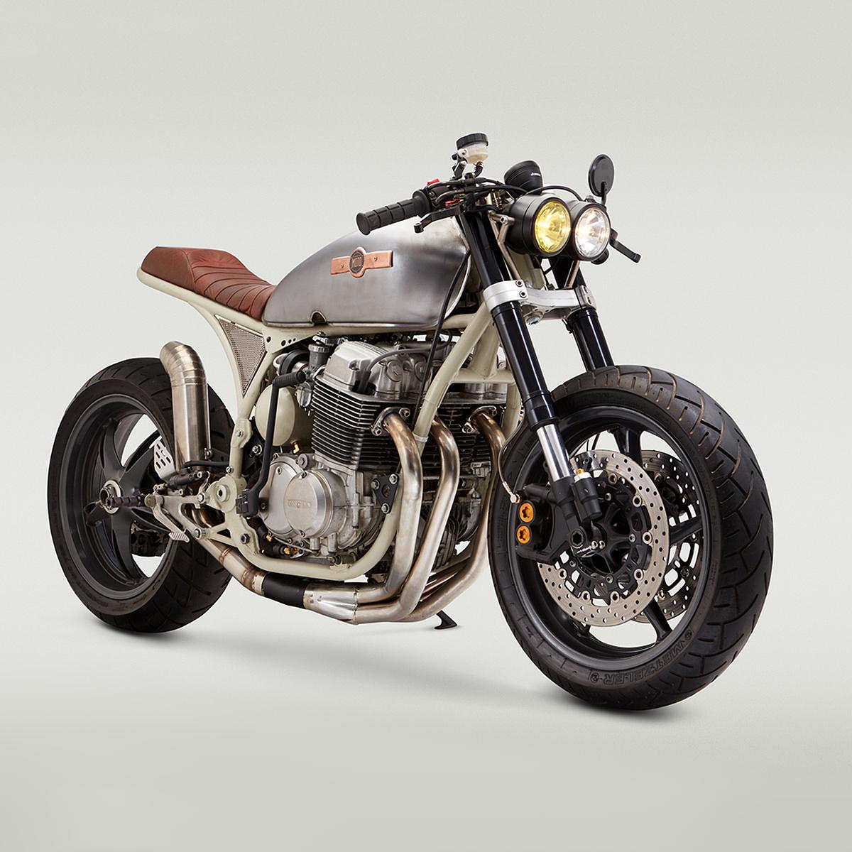 star struck a nasa inspired honda cb 750 cafe racer bike exif. Black Bedroom Furniture Sets. Home Design Ideas