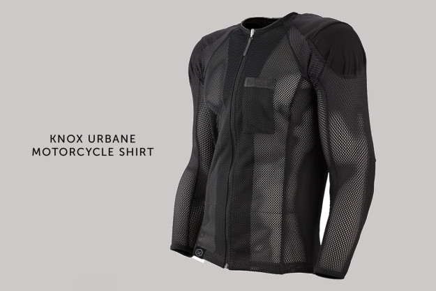 Knox Urbane motorcycle shirt: under-armor for your favorite vintage jacket.