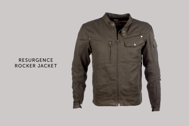 Resurgence Rocker motorcycle jacket.