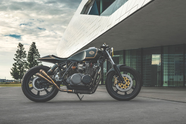 Excess All Areas: A radical Yamaha XS850 custom from Nozem of Amsterdam.