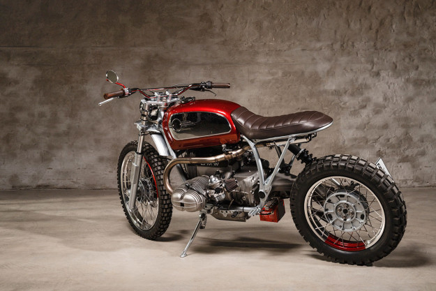 Six Nights: A BMW R 100 GS customized by Urban Motor of Berlin.