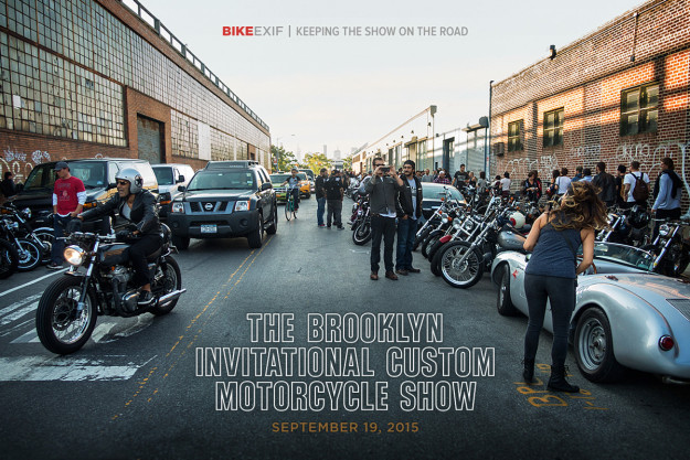 The 2015 Brooklyn Invitational Motorcycle Show