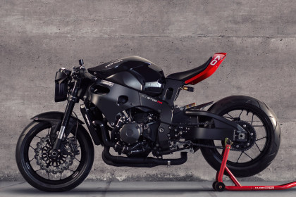 Huge Moto will turn your CBR1000RR into a Tron-style café fighter