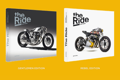 The Ride: 2nd Gear—the sequel to the world's bestselling custom motorcycle book.