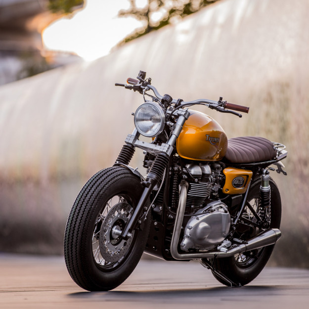 Triumph Thruxton custom de Down & Out Cafe Racers