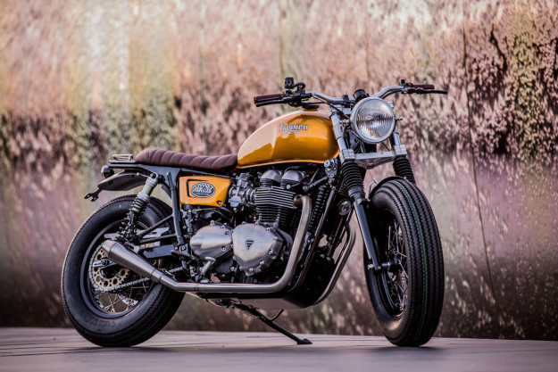 Triumph Thruxton custom by Down & Out Motorcycles