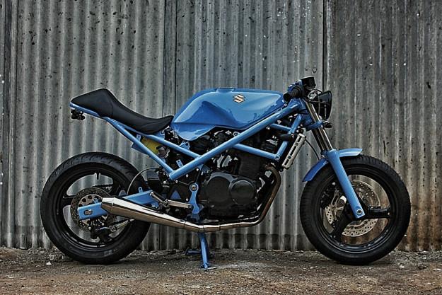 Studio Motor's custom Suzuki Bandit