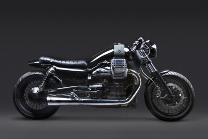 California Dreaming: a stunning Moto Guzzi modified by Venier Customs