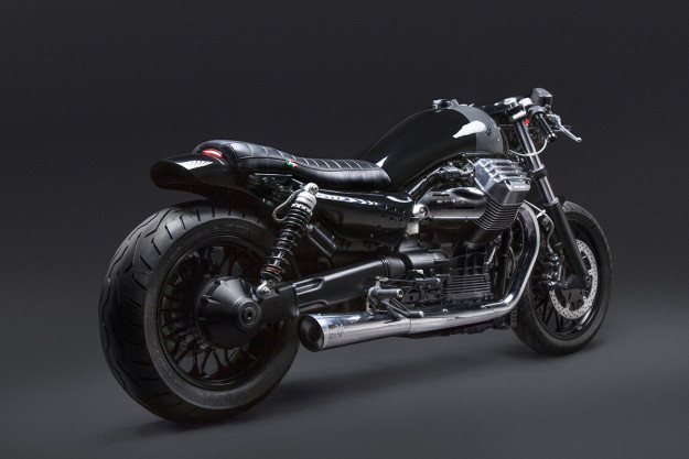 California Dreaming: a stunning Moto Guzzi modified by Venier Customs