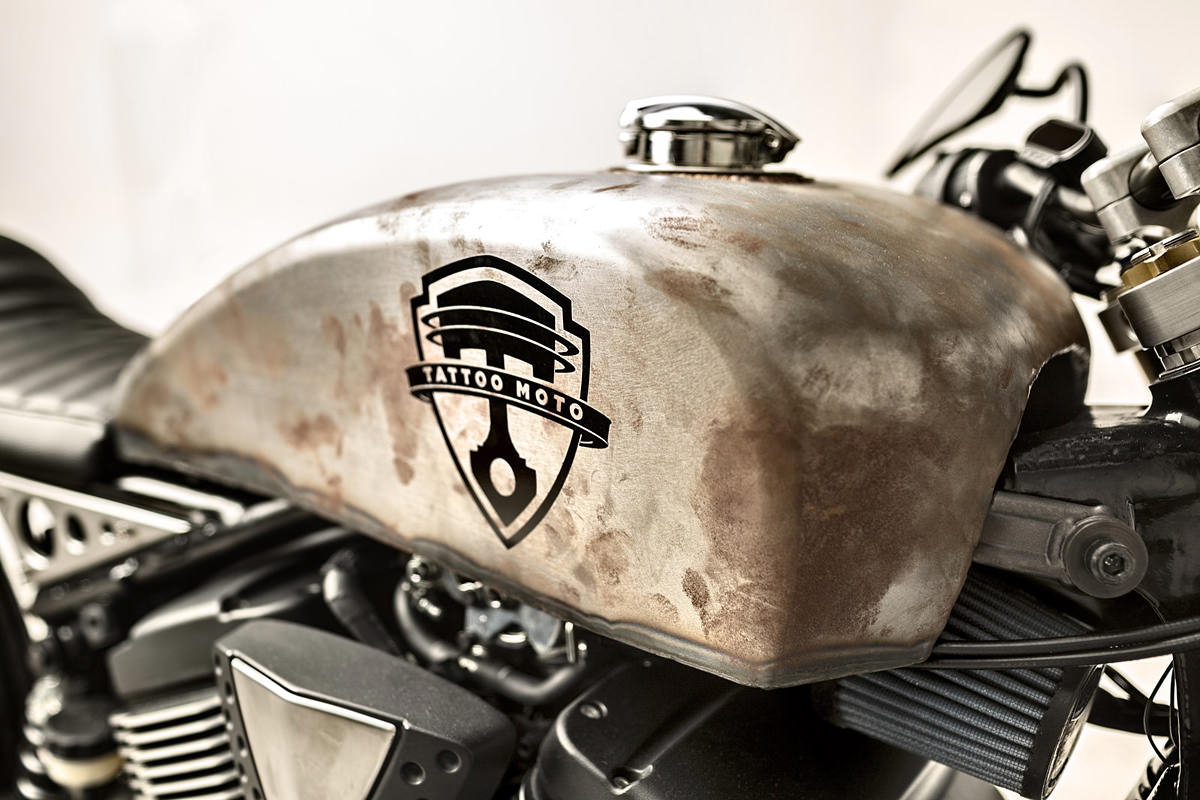 caf racer 76 modern muscle victory gunner by tattoo