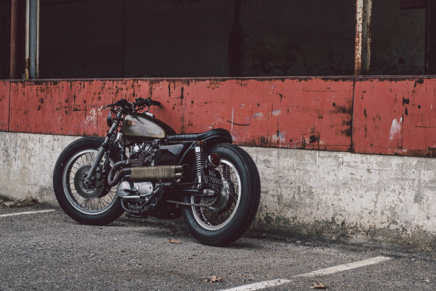 Unapologetic: Soyouz Cycles' custom Yamaha XS650