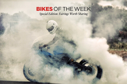 Custom Bikes of the Week: Fairings worth sharing.