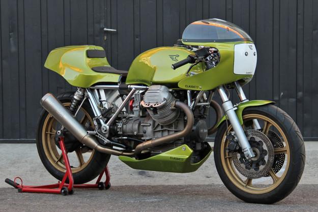 ClassicCo's 'Round Head Racer' Moto Guzzi