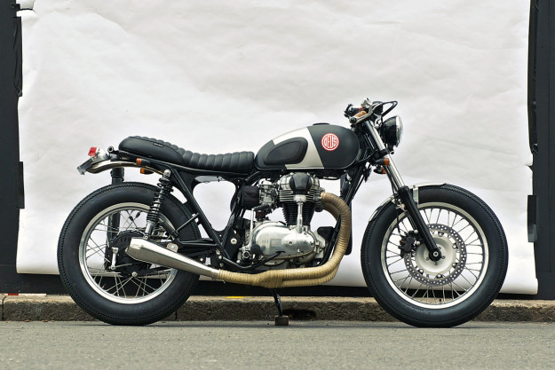 Kawasaki W650 built by Deus Customs.