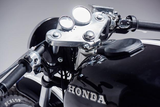 Custom Honda CX500 by Eastern Spirit Garage.