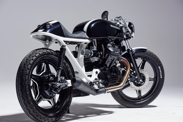 Honda CX500 cafe racer by Eastern Spirit Garage.