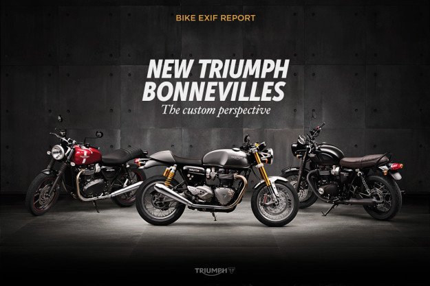 Revealed: the new Triumph Bonnevilles