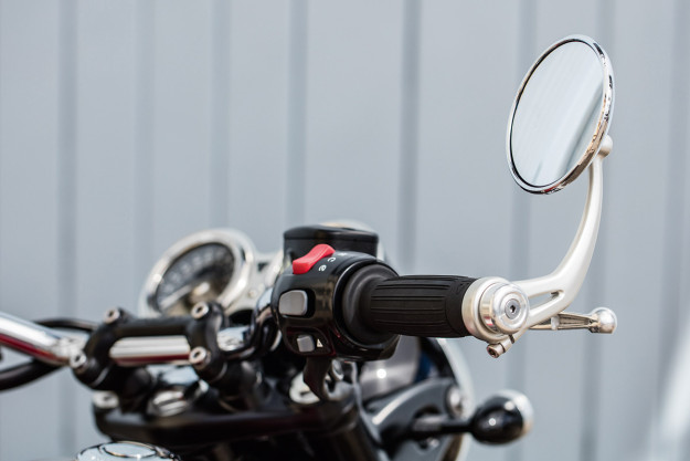 New Triumph Bonneville mirror