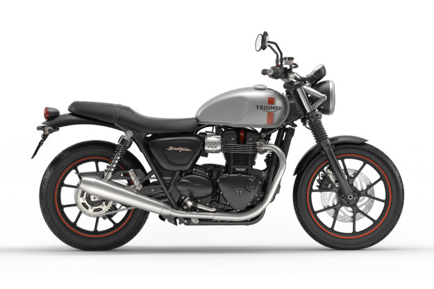 New Triumph Bonneville Street Twin