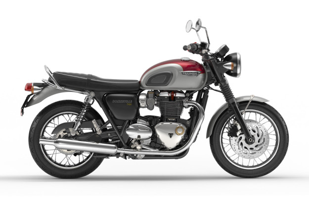 New Triumph Bonneville T120