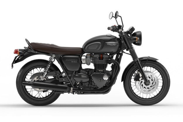New Triumph Bonneville T120 Black