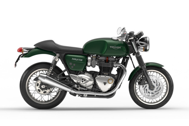 New Triumph Bonneville Thruxton