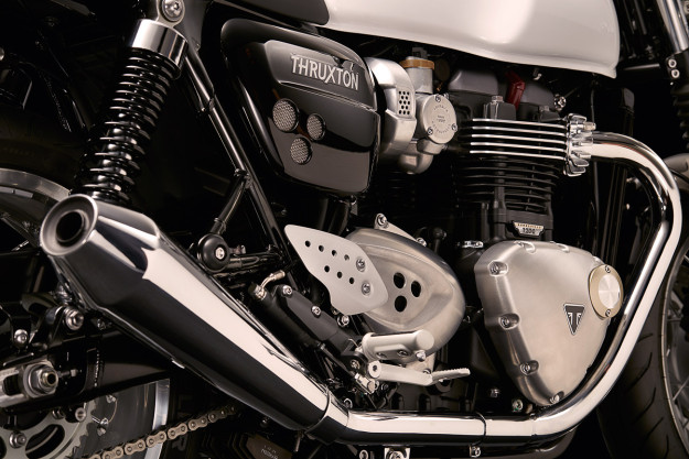 New Triumph Bonneville Thruxton engine