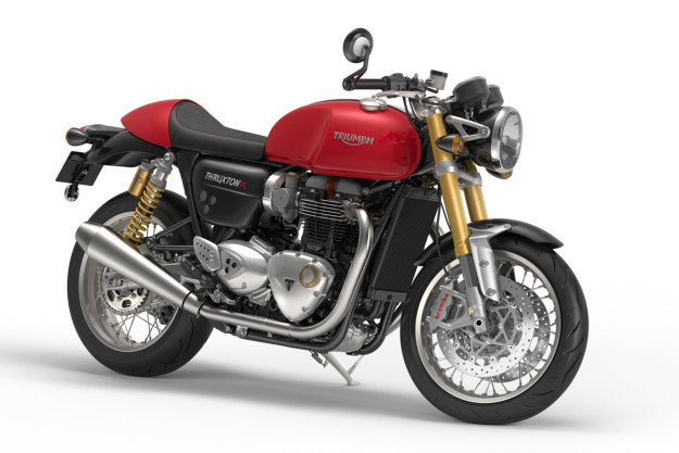 New Triumph Bonneville Thruxton R