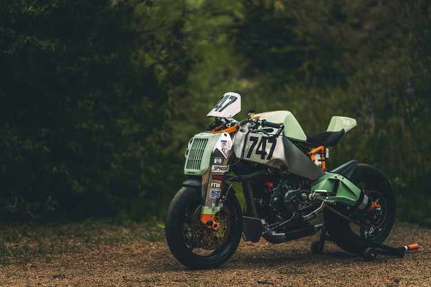 Ōishi Yoshio: the Ronin motorcycle that conquered Pikes Peak.