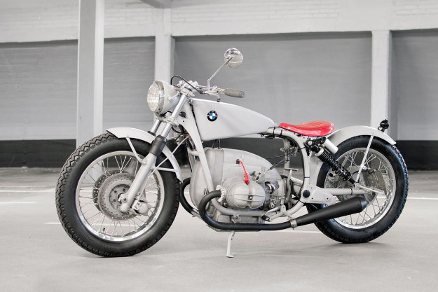 Custom BMW R60 by Wang Motorcycles.