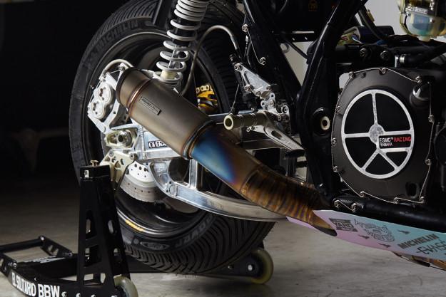Big Bad Wolf: Yard Built Yamaha XJR1300 by El Solitario MC