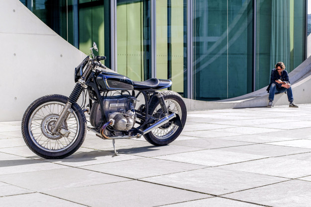 A waspish BMW R100/7 from Berlin-based Berham Customs.