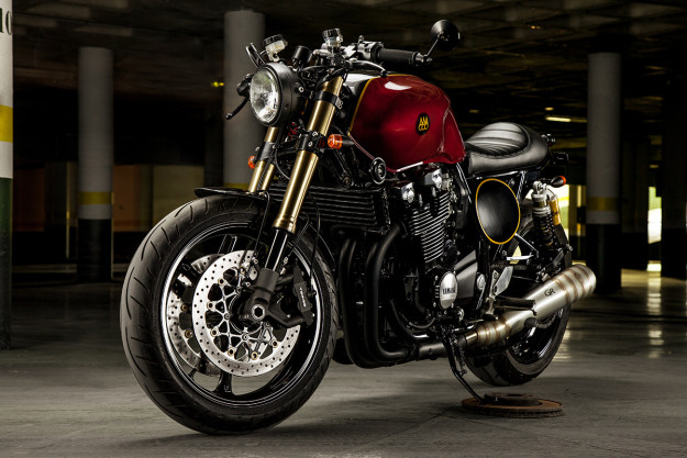 The Sinner: this Yamaha XJR1300 by Macco Motors is devilishly good.