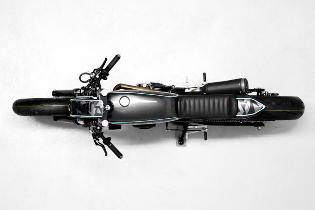Street Smarts: an urban Suzuki DR650 by Diamond Atelier