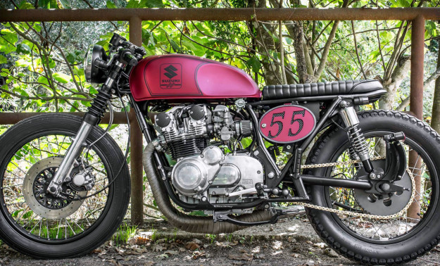 Suzuki GS550 by Brat Box