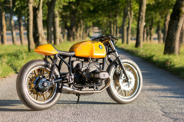 Racing BMW R100 by Unique Custom Cycles of Sweden.