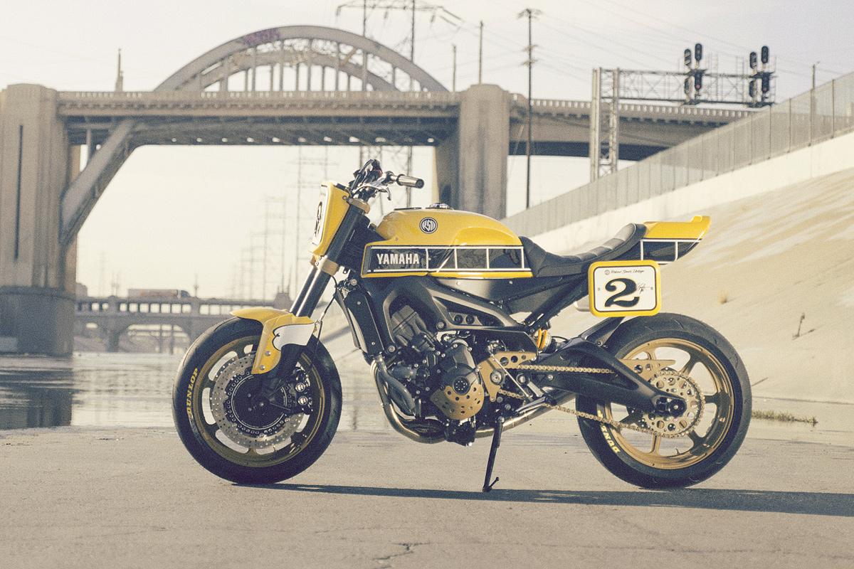 Moto yamaha scrambler cars motorcycles bobber forward mt09 yamaha - Full Size