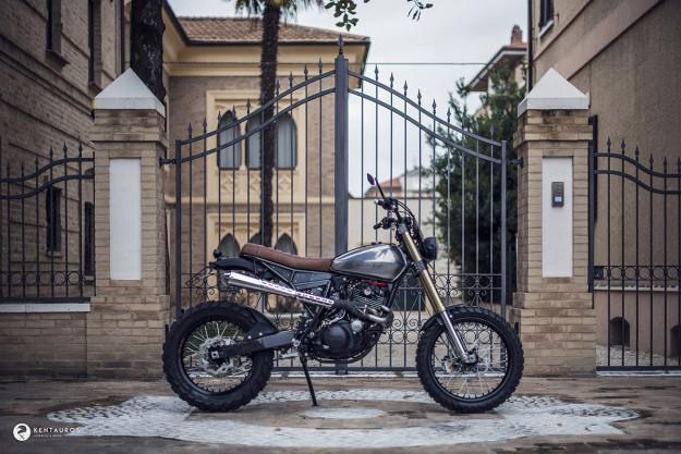 Custom Yamaha XT600 by Kentauros