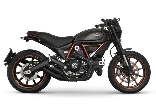 Ducati Scrambler limited edition by Italia Independent